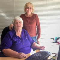Sylvia Everett & Penny Eaton