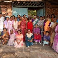 Residents of the Priti Sadan - Mukti 2014 Large JPEG by David MacCullagh-0965